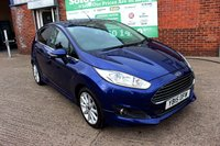 USED 2015 15 FORD FIESTA 1.0 TITANIUM 5d 124 BHP +ONE OWNER +LOW TAX +SERVICED.