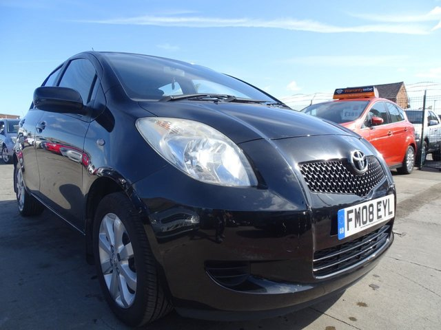USED 2008 08 TOYOTA YARIS 1.3 TR VVTI CHEAP TAX AND INSURANCE