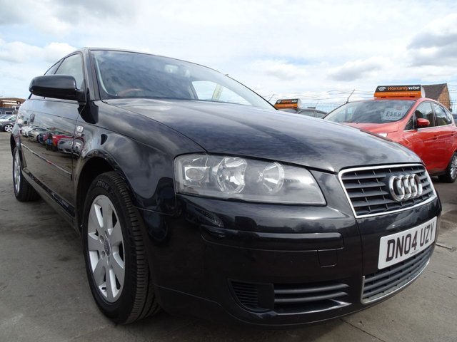 USED 2004 04 AUDI A3 1.9 TDI SE 1 YEAR MOT INCLUDED