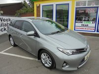 USED 2013 63 TOYOTA AURIS 1.4 EXCEL D-4D 5d 89 BHP JUJST ARIIVED DIESEL ESTATE