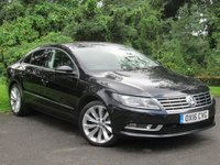 USED 2016 16 VOLKSWAGEN CC 2.0 GT TDI BLUEMOTION TECHNOLOGY DSG 4d AUTO * 12 MONTHS FREE AA MEMBERSHIP * 128 POINT AA INSPECTED *