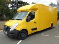 USED 2014 14 VAUXHALL MOVANO 2.3 F3500 L3H1 CDTI 123 BHP LOW CHASSIS LOLOADER LUTON VAN +AIR-CON+ 1 OWNER+