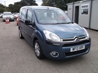 2013 CITROEN BERLINGO MULTISPACE 1.6L GM Coachworks Blaze £6995.00