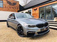 USED 2017 67 BMW 5 SERIES 2.0 530E M SPORT 4d AUTO 249 BHP