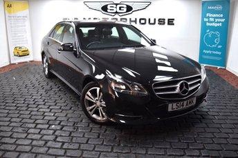 2014 MERCEDES-BENZ E CLASS 2.1 E220 CDI SE 4d AUTO 168 BHP £12495.00