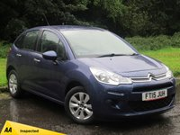 USED 2015 15 CITROEN C3 1.2 VTR PLUS 5d 80 BHP LOW MILEAGE AND LOW RUNNING COSTS
