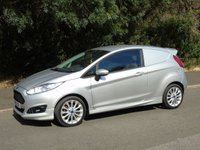 2014 FORD FIESTA 1.6 SPORT TDCI 94 BHP 3DR (ST STYLING) CAR DERIVED VAN £6250.00