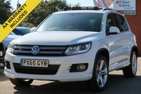 USED 2015 65 VOLKSWAGEN TIGUAN 2.0 R LINE EDITION TDI BMT 4MOTION DSG 5d AUTO 148 BHP PANORAMIC SUNROOF, SATELLITE NAVIGATION, 360 CAMERA AND PARK ASSIST