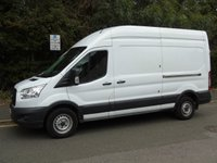 2015 FORD TRANSIT T350 2.2TDCI 124 BHP LWB HIGH ROOF PANEL VAN £7995.00