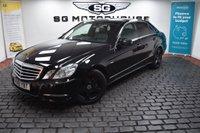 USED 2011 61 MERCEDES-BENZ E CLASS 2.1 E250 CDI BLUEEFFICIENCY AVANTGARDE 4d AUTO 204 BHP