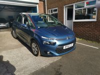 USED 2016 16 CITROEN C4 PICASSO 1.6 BLUEHDI VTR PLUS EAT6 5d AUTO 118 BHP AUTOMATIC WITH ONLY 10498 MILES LOW CO2, £0 ROAD TAX, GOOD SPEC INCLUDING ALLOY WHEELS, PARKING SENSORS, CRUISE CONTROL, BLUETOOTH, USB AND AUXILIARY INPUT, AIR CONDITIONING AND ELECTRIC MIRRORS