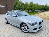 2013 BMW 1 SERIES 2.0 116D M SPORT 5d AUTO 114 BHP £9995.00