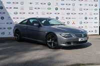 USED 2007 57 BMW 6 SERIES 3.0 635D SPORT 2d 282 BHP FULL LEATHER+PANORAMIC ROOF
