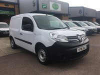 2016 RENAULT KANGOO 1.5 ML19 BUSINESS DCI 1d 89 BHP £5195.00