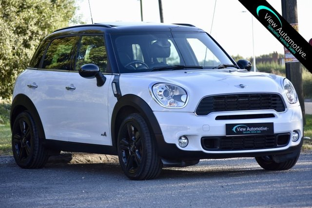 2010 60 MINI COUNTRYMAN 1.6 COOPER S ALL4 5d AUTO 184 BHP