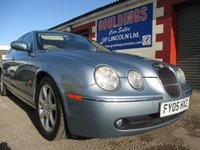 USED 2005 05 JAGUAR S-TYPE 2.5 V6 SE 4d AUTO 201 BHP ONLY 2 OWNERS FROM NEW