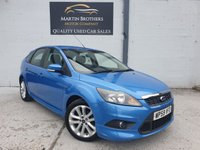 USED 2010 59 FORD FOCUS 1.6 ZETEC S S/S 5d 113 BHP