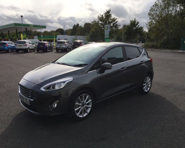 2017 67 FORD FIESTA 1.0 TITANIUM NAVIGATOR ECOBOOST (125PS) NEW MODEL