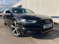 USED 2013 13 AUDI A4 2.0 TDI QUATTRO BLACK EDITION 4d 174 BHP SATELLITE NAVIGATION - BANG & OLUFSEN - HEATED SEATS - PARK SENSORS FRONT & REAR - FULL HISTORY - BELT DONE JAN 2019 - 3 MONTH WARRANTY