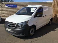 2015 MERCEDES-BENZ VITO 1.6 111 CDI 1d 114 BHP EXTRA LONG PANEL VAN  £9999.00