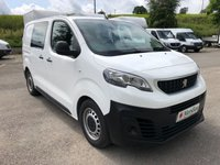 USED 2017 67 PEUGEOT EXPERT 1.6 BLUE HDI PROFESSIONAL CREW VAN COMPACT 95PS *CRUISE. BLUETOOTH. AIR CON*
