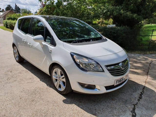 2015 65 VAUXHALL MERIVA 1.4 SE 5d AUTO 118 BHP
