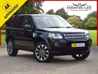 USED 2014 LAND ROVER FREELANDER 2.2 SD4 METROPOLIS 5d AUTO 190 BHP SPECIAL EDITION LUXURY AUTOMATIC+FSH