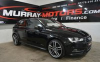 2016 AUDI A3 1.6 TDI ULTRA SE TECHNIK 3DOOR 109 BHP MYTHOS BLACK £9995.00