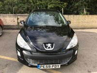 USED 2009 59 PEUGEOT 308 1.6 SPORT 5d 118 BHP mot august 2020 DEALER PX, ONLY 74K 2 FORMER KEEPERS, 2 KEYS