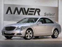 USED 2012 12 MERCEDES-BENZ S CLASS 3.0 S350 BLUETEC 4d AUTO 258 BHP