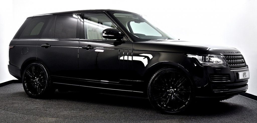 """USED 2016 16 LAND ROVER RANGE ROVER 3.0 TD V6 Vogue Auto 4WD (s/s) 5dr Black Pack, Pan Roof, 22""""s ++"""
