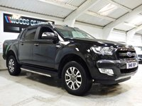USED 2018 18 FORD RANGER 3.2 WILDTRAK 4X4 DCB TDCI 1d 197 BHP