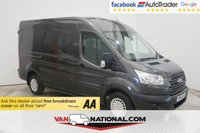 USED 2014 64 FORD TRANSIT 2.2 310 TREND SHR P/V L2 H2 124 BHP ** AIR CON ** CRUISE ** * BLUETOOTH * CRUISE CONTROL* PARKING SENSORS*