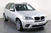 USED 2011 11 BMW X5 3.0 XDRIVE30D M SPORT 5d AUTO 241 BHP 2 OWNERS with 8 Stamp SERVICE HISTORY