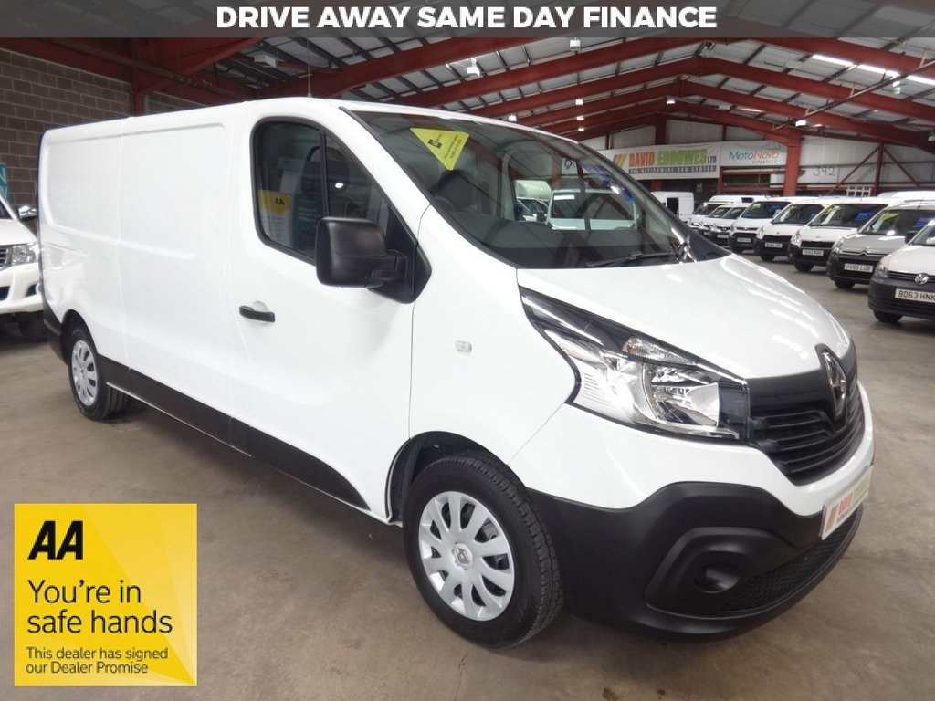 USED 2014 64 RENAULT TRAFIC 1.6 LL29 BUSINESS DCI S/R P/V 115 BHP LWB VAN '' YOU'RE IN SAFE HANDS  ''  WITH THE AA DEALER PROMISE