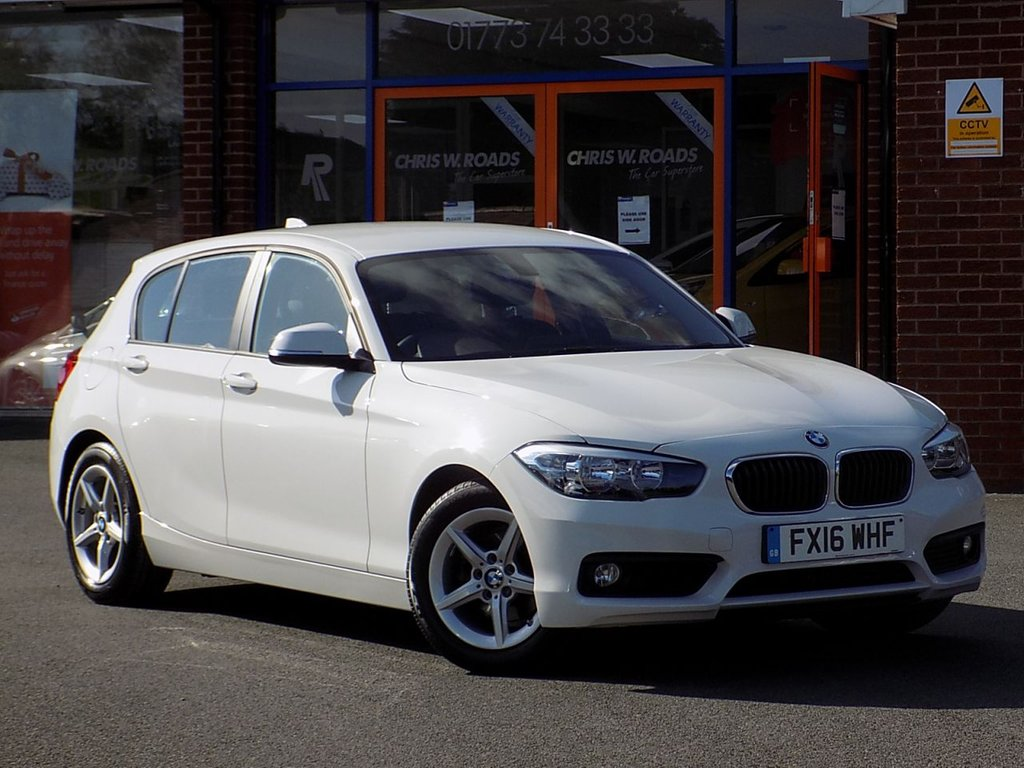 USED 2016 16 BMW 1 SERIES 1.5 116d Efficient Dynamics Plus 5dr ** Sat Nav + Leather **
