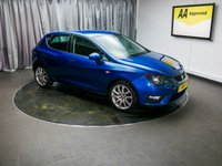 USED 2013 63 SEAT IBIZA 1.2 TSI FR 5d 104 BHP £0 DEPOSIT FINANCE AVAILABLE, AIR CONDITIONING, AUX INPUT, CD/MP3/RADIO, CLIMATE CONTROL, CRUISE CONTROL, STEERING WHEEL CONTROLS, TRIP COMPUTER