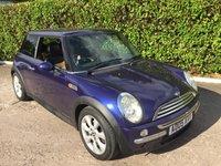 2005 MINI HATCH ONE 1.4 ONE D 3d 74 BHP £750.00