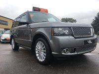 USED 2012 12 LAND ROVER RANGE ROVER 4.4 TDV8 AUTOBIOGRAPHY 5d AUTO 313 BHP Stunning Car, Huge spec, a Real Luxury vehicle.