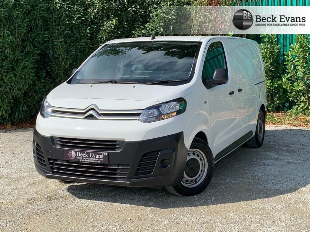 USED 2017 17 CITROEN DISPATCH 1.6 M 1000 ENTERPRISE BLUEHDI S/S 1d 114 BHP  SATELITE NAVIGATION