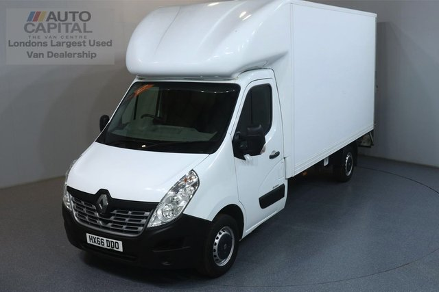 2016 66 RENAULT MASTER 2.3 LL35 BUSINESS DCI 125 BHP LWB ULEZ COMPLIANT LUTON ONE OWNER, REAR TAIL LIFT FITTED