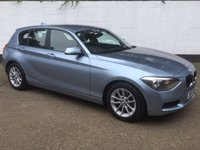 USED 2014 BMW 1 SERIES 1.6 116D EFFICIENTDYNAMICS 5d 114 BHP
