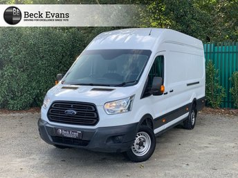 2016 FORD TRANSIT 2.2 350 H/R P/V 1d 124 BHP LONG HIGH ROOF ULEZ EURO 6  £10799.00