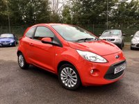 USED 2015 64 FORD KA 1.2 ZETEC 3d  LOW MILEAGE AND HISTORY  NO DEPOSIT  FINANCE ARRANGED, APPLY HERE NOW
