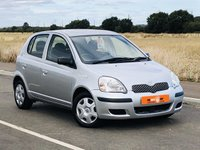 USED 2005 05 TOYOTA YARIS 1.0 T3 VVT-I 5d 64 BHP 2 OWNERS LOW MILES ONLY 61K