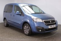 USED 2016 16 PEUGEOT PARTNER 1.6 BLUE HDI S/S TEPEE ACTIVE 5DR 7SEATS FULL SERVICE HISTORY + £20 12 MONTHS ROAD TAX + 7 SEATS + 1 OWNER + CRUISE CONTROL + AIR CONDITIONING + PRIVACY GLASS + ELECTRIC WINDOWS + ELECTRIC MIRRORS + RADIO/CD