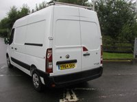USED 2014 64 VAUXHALL MOVANO 2.3 L2H2 P/V CDTI  134 BHP VAN - NO VAT Only 30000 miles, Service History, Air Con
