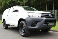 USED 2016 66 TOYOTA HI-LUX 2.4 ACTIVE 4WD D-4D DCB 1d 148 BHP A CLEAN ONE COMPANY OWNER NEW SHAPE HILUX WITH FULL HISTORY!!!