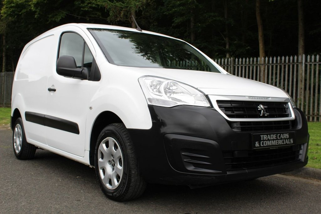 USED 2016 66 PEUGEOT PARTNER 1.6 BLUE HDI PROFESSIONAL L1 1d 100 BHP ONE COMPANY OWNER WITH FULL SERVICE HISTORY