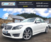 USED 2012 62 MERCEDES-BENZ C CLASS 2.1 C220 CDI BLUEEFFICIENCY AMG SPORT 4d 168 BHP